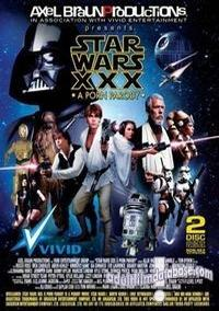 Star Wars XXX - A Porn Parody box cover