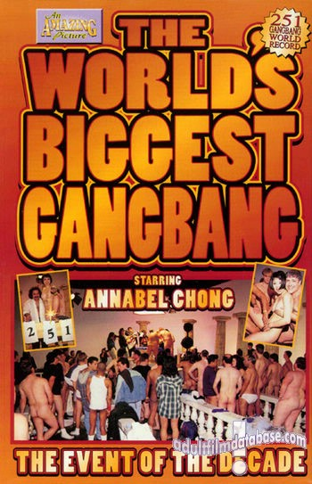 The worlds biggest gang bang