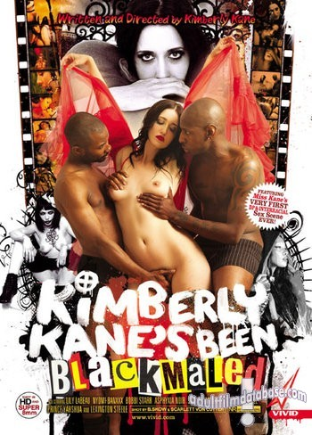 Kimberly Kane's Been Blackmaled (Vivid) front box cover