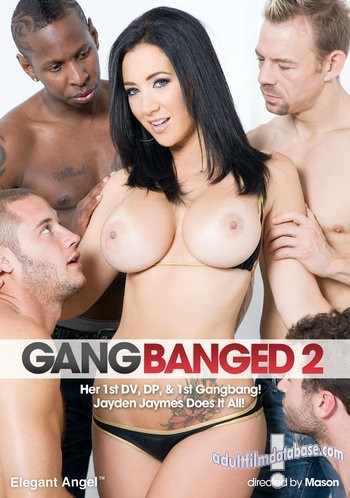 Front Box Art for Elegant Angel's Gangbanged 2 starring Jayden James